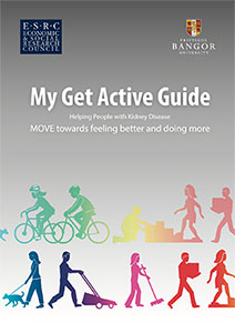 Cover of My Get Active Guide booklet